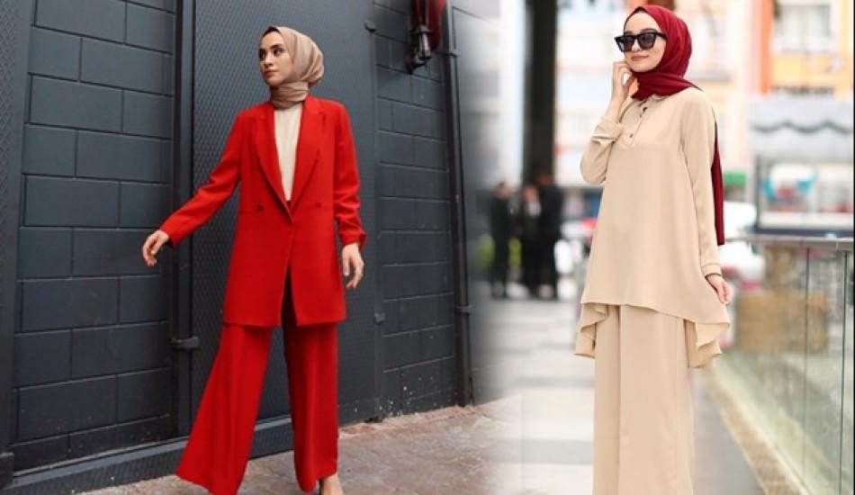 2019'un en yeni geniş bol paça pantolon modelleri