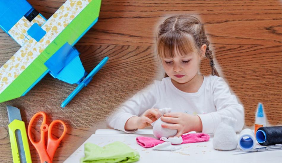 Eğlenceli oyuncak nasıl yapılır? Evde yapılabilecek kolay ve eğitici oyuncaklar