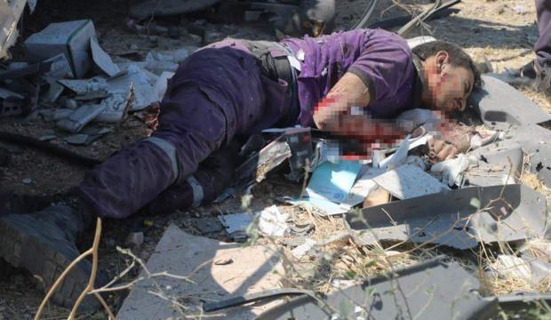 Esed rejimi İdlib'e saldırdı: 14 ölü