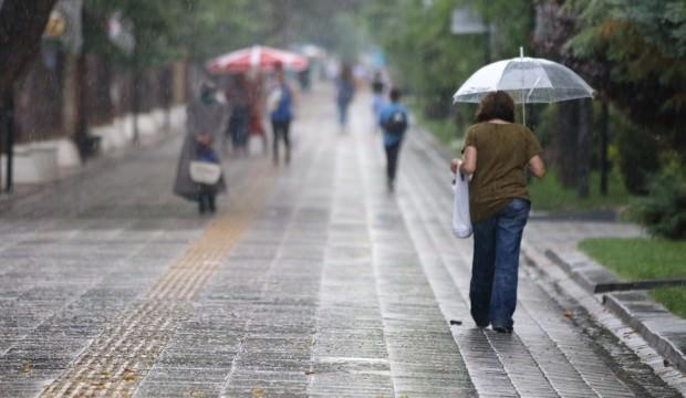 Meteoroloji uyardı: İki bölge dışında tüm yurtta yağış bekleniyor