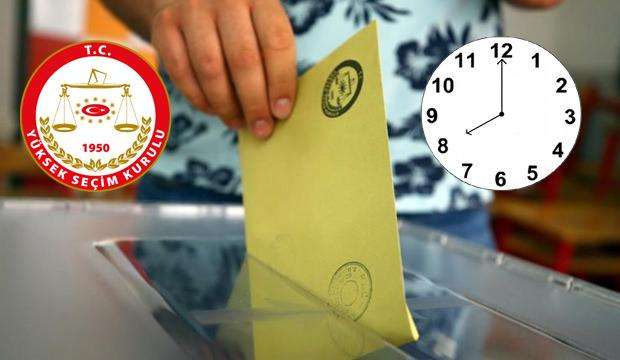 Oy kullanma saat kaçta başlayacak kaçta bitecek? İBB Oy kullanma saatleri