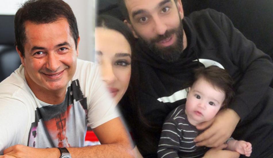 Acun Ilıcalı Arda Turan'ın oğlunu paylaştı!
