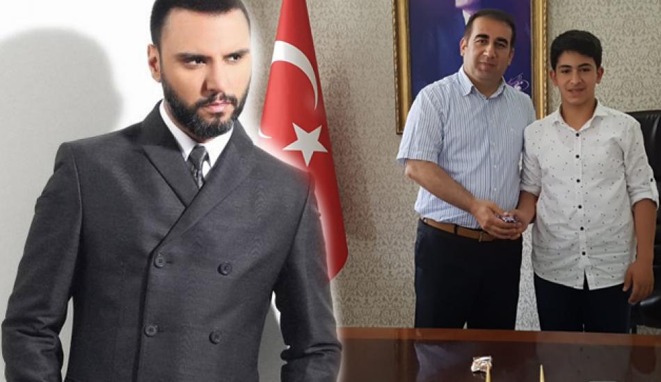 Alişan'dan hayvancılık yapan LGS birincisi Adil Karadağ'a büyük destek