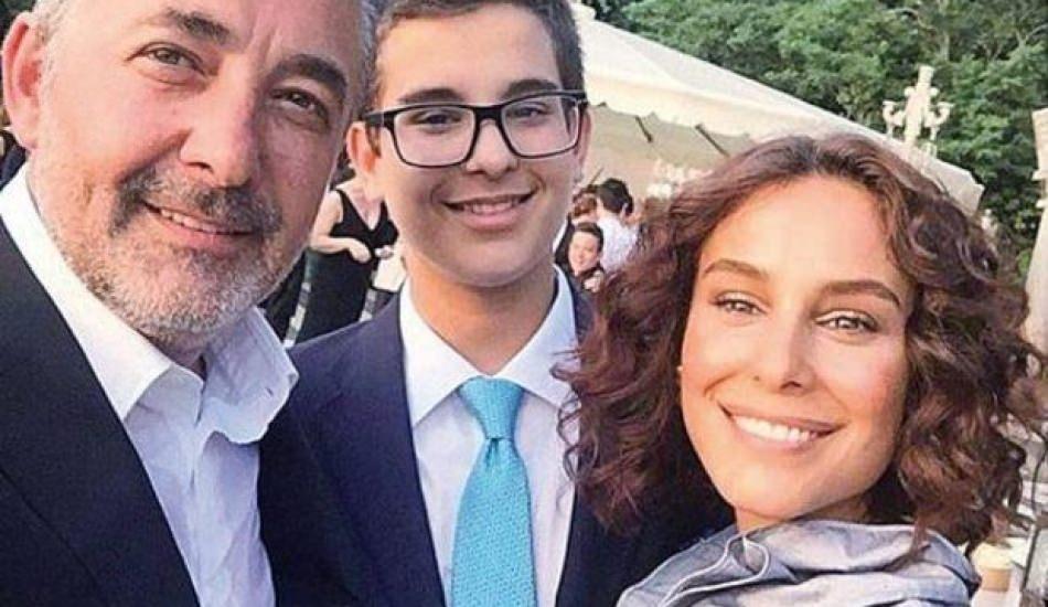 Mehmet Aslantuğ ile Arzum Onan çiftinin oğlu mezun oldu!