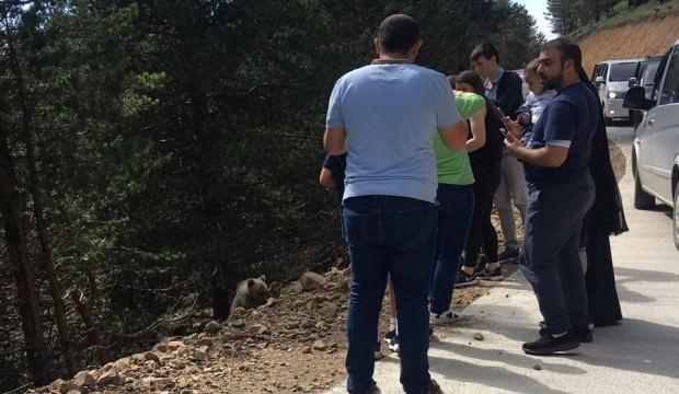 Arap turistleri şaşkına çeviren görüntü!
