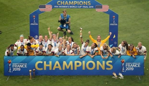 2019 Dünya Kupası şampiyonu ABD!