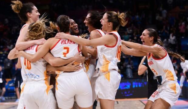 Kadınlar basketbolda Avrupa'nın en büyüğü İspanya!