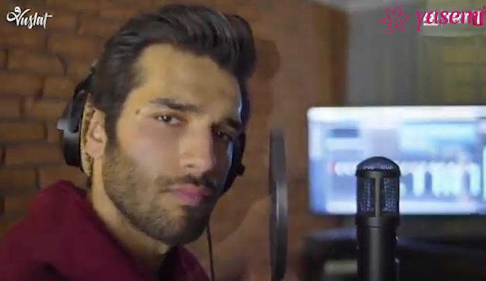 Vuslat dizisinin oyuncusu Baran Bölükbaş Zaman şarkısına klip çekti!