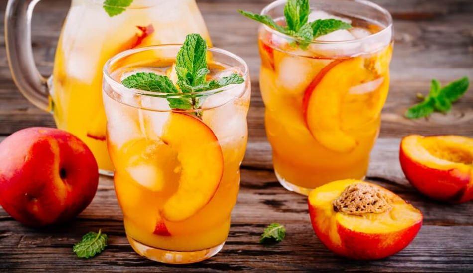 En kolay şeftali suyu nasıl yapılır? Şeftaliden meyve suyu yapmanın püf noktaları