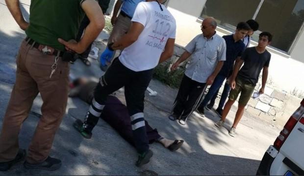Ölüm genç kadını sokakta yürürken yakaladı