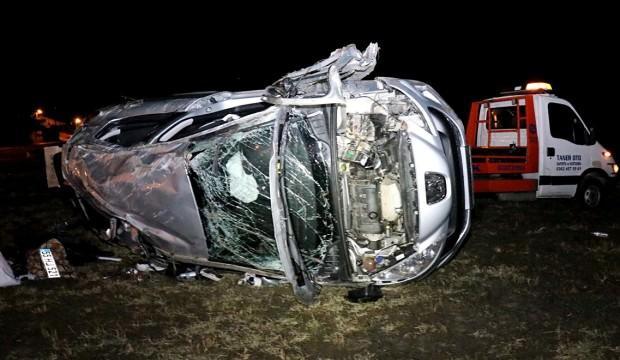 Samsun'da çocuğun kullandığı otomobil devrildi: Ölü ve yaralılar var