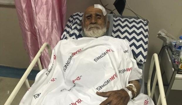 82 yaşındaki adamı darp edip evini yaktılar