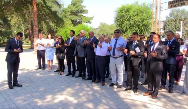 Kırgızistan'da ilk kez Kıbrıs Barış Harekatı'nın 45. yılı kutlandı