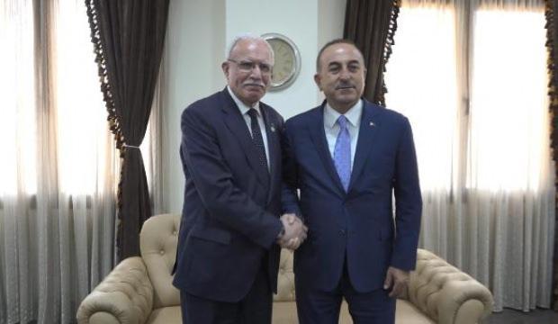 Çavuşoğlu, Maliki ile görüştü!