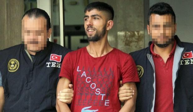 Polise ateş açtı! Cezaevine götürülürken böyle güldü…