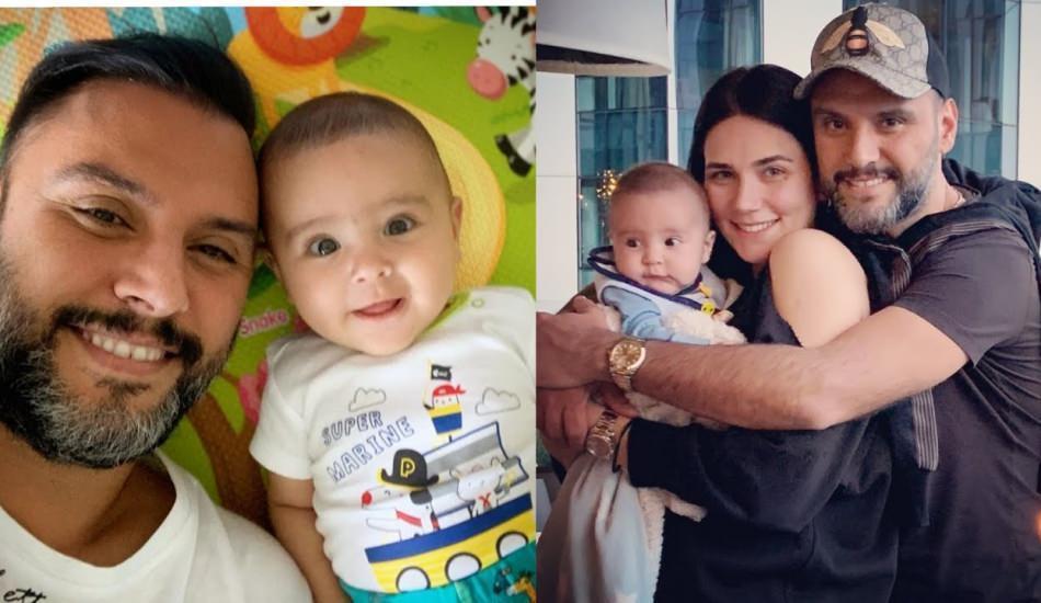 Alişan ve oğlu Burak ile sevimli poz!