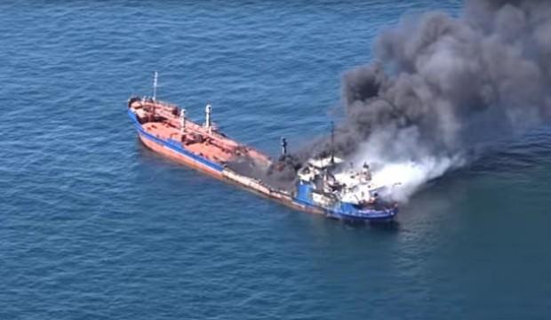 Azerbaycan Ordusu'nu harekete geçiren olay! Helikopterler ve gemi...