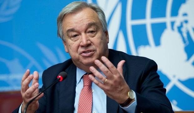 BM Sekreteri Guterres'ten İdlib açıklaması