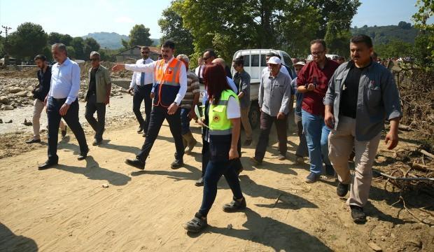 Düzce'deki sel felaketinde 2 çocuk için harekete geçildi
