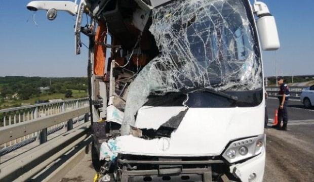 Eyüpsultan'da feci kaza: Çok sayıda yaralı