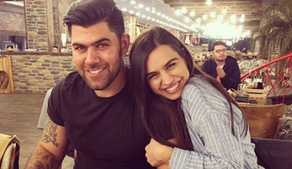 Amine Gülşe abisi Şahan ile hafta sonu pozu!