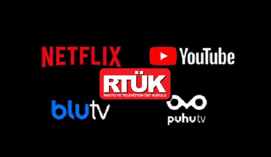 Dijital yayın platformları RTÜK'e bağlandı!