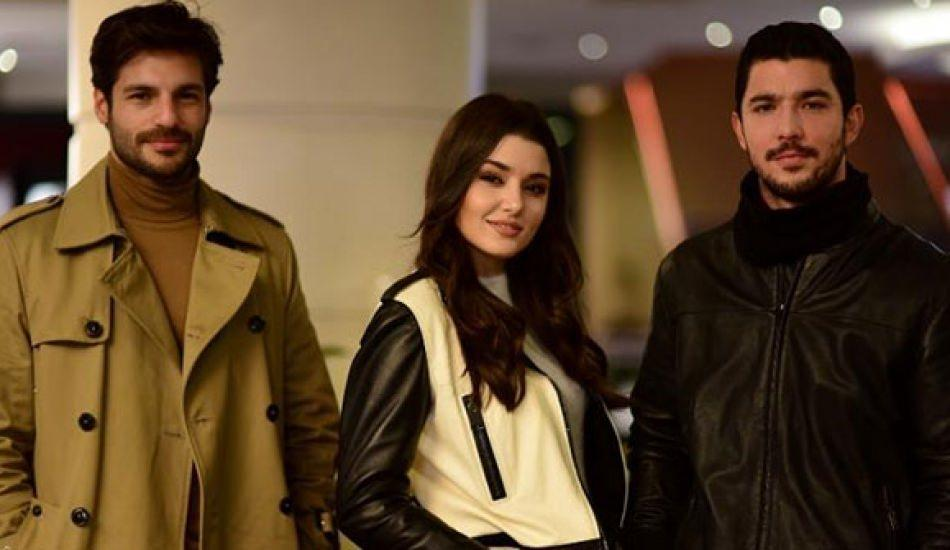 Hande Erçel, Serkan Çayoğlu ve Kaan Yıldırım Halka dizisinden ayrıldı