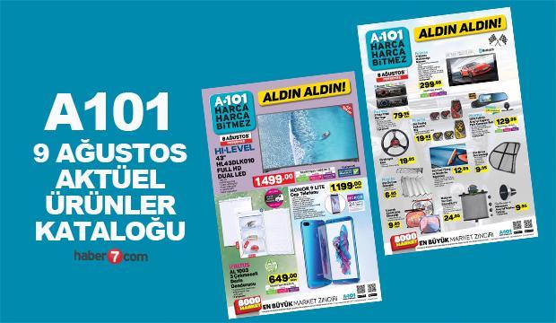 A101 9 Ağustos aktüel ürünler kataloğu yayında! Kurban Bayramına Özel İndirim..