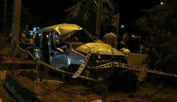 Aydın'da korkunç kaza: 1 ölü, 2 yaralı