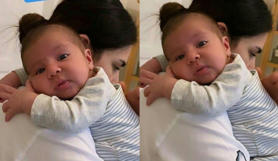 Buse Varol'dan oğlu Burak bebeğe duygu dolu sözler!