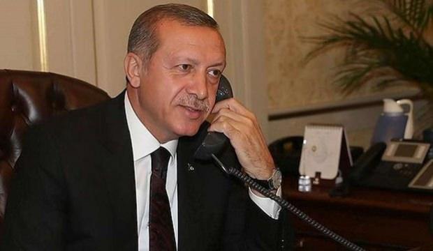 Cumhurbaşkanı Erdoğan'dan Başakşehir'e tebrik telefonu