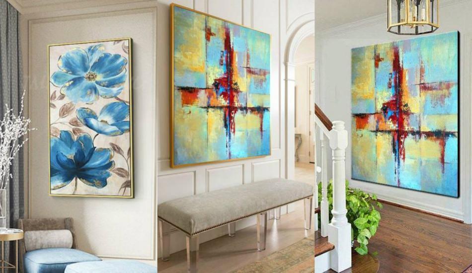 Evinizin görünümünü değiştiren dekoratif tablolar