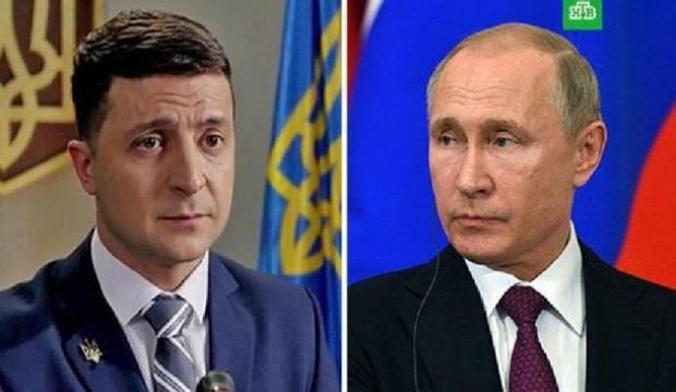 Kriz sona eriyor: Putin ve Zelenskiy telefonda görüştü!