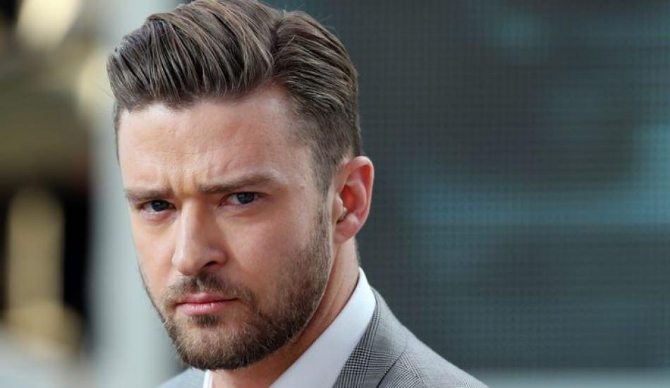 Justin Timberlake oğlu ile poz verdi!