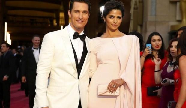 Oscar ödüllü oyuncu Matthew McConaughey İstanbul'da
