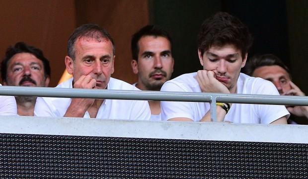 Abdullah Avcı ve Cedi Osman maçı bizlikte izledi
