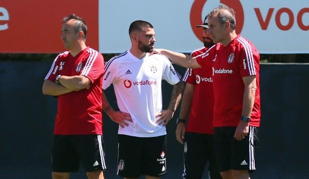 Beşiktaş'ın yeni transferi antrenmanda