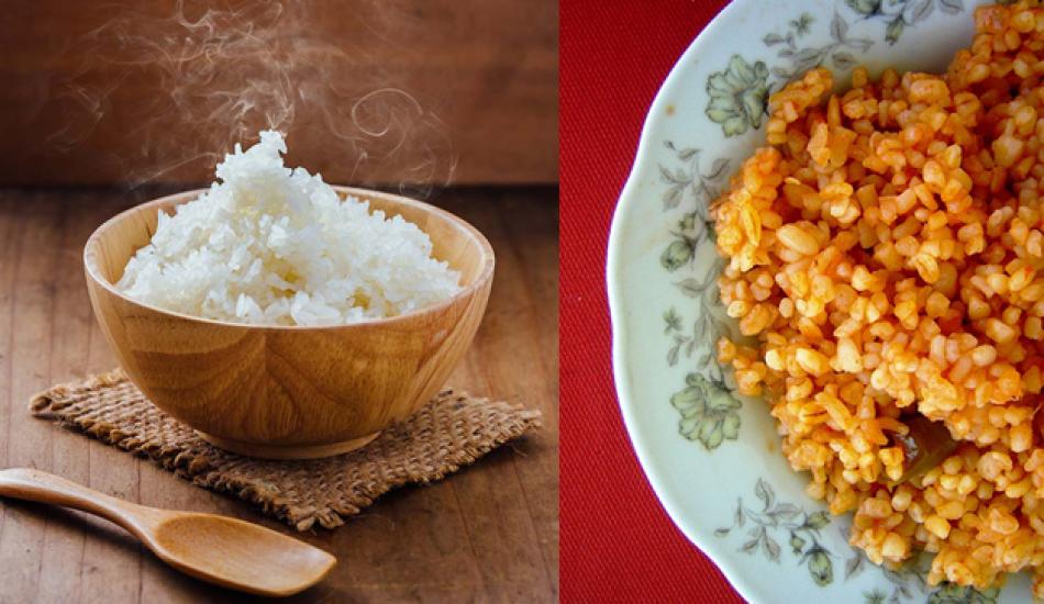 Bulgur mu pirinç mi kilo aldırır? Bulgurun ve pirincin faydaları neler? Pilav yemek...