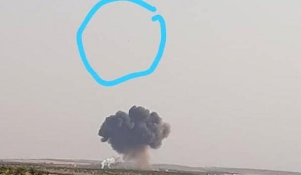 İdlib'de rejime ait savaş uçağı düşürüldü