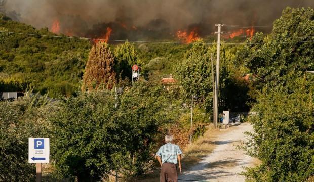 İzmir ve Muğla'da korkutan yangınlar!