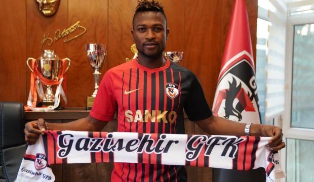 Gazişehir Gaziantep'ten bir transfer daha!