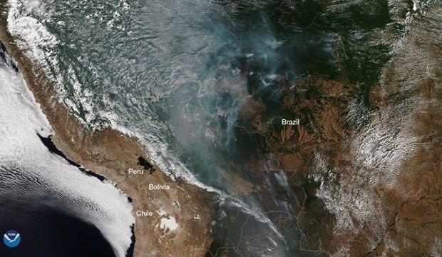NASA uzaydan çektiği görüntüler korkuttu: İşte yayınladığı fotoğraflar!