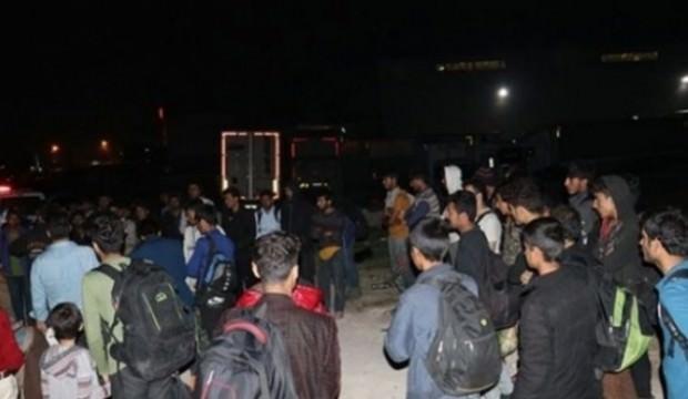 Adana'da 76 düzensiz göçmen yakalandı!