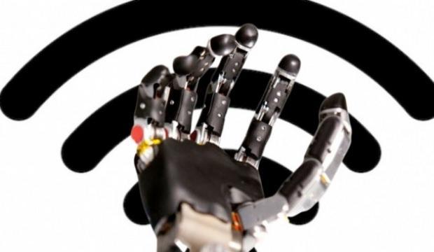 Dünyada bir ilk: Wi-Fi protez el