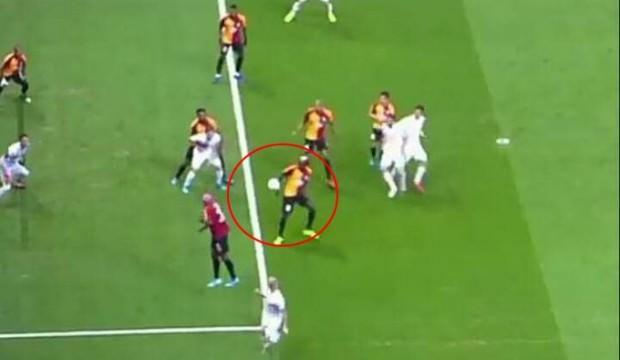 G.Saray maçında penaltı tartışması!