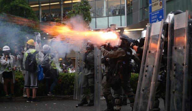 Çin'den Hong Kong suçlaması! İki yüzlü bir tavır