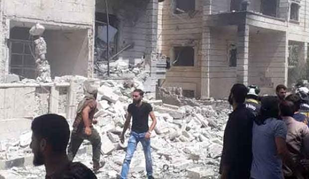 İdlib'de patlama: 1 ölü, 8 yaralı