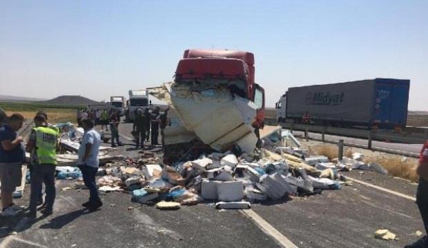 Mardin'de zincirleme kaza: 1 ölü, 3 yaralı