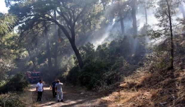 Marmaris'te aynı yerde 3'üncü orman yangını