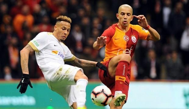 Galatasaray'dan Kayseri'ye büyük üstünlük